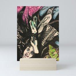 Heart In Love World In Turmoil Mini Art Print