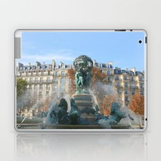Paris Fountain Laptop & iPad Skin