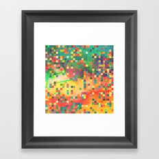 Discotized. Framed Art Print