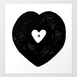 Be my vinyltine Art Print