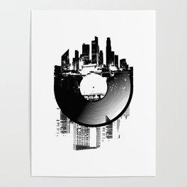 Urban Vinyl of Underground Music Poster