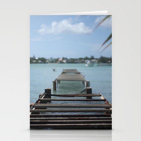 Turquoise Paradise Stationery Cards