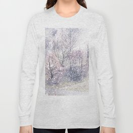 Snow in early fall(2). Long Sleeve T-shirt