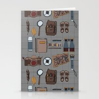 kit king Stationery Cards featuring Explorers kit by Laura Barnes