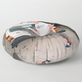 Mac Demarco Italian Meme Floor Pillow