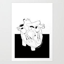 OF VITAL IMPORTANCE Art Print