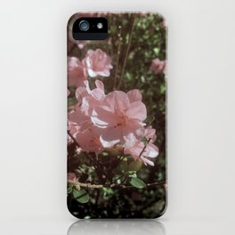 Happy Little Pink Flowers iPhone Case