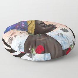 Peace in storm Floor Pillow