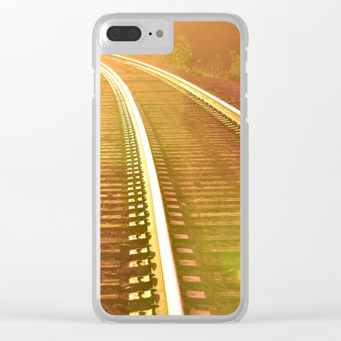 WHERE ARE WE GOING? Clear iPhone Case