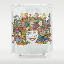 SWEET DEE Shower Curtain
