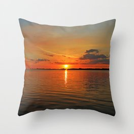 Windswept Charms Throw Pillow