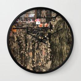 Hunter on the prowl Wall Clock