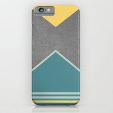 Concrete & Triangles III Slim Case iPhone 6s