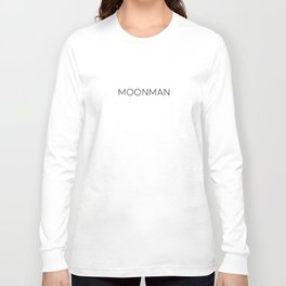 Moonman Tshirt Long Sleeve T-shirt