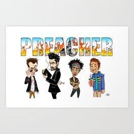 Preacher Art Print