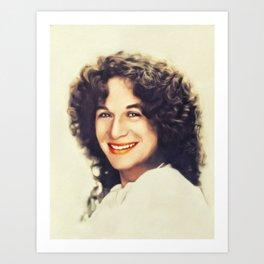 Carole King, Music Legend Art Print