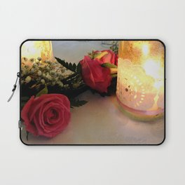 Candles & Roses Laptop Sleeve