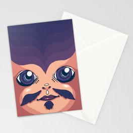 gypsy man Stationery Cards