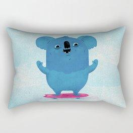 Kickflip Koala Rectangular Pillow