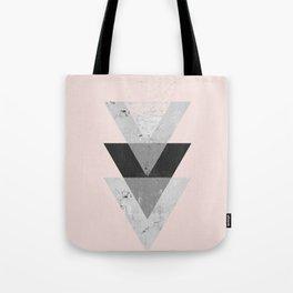 Inverted triangle geometric pattern Tote Bag