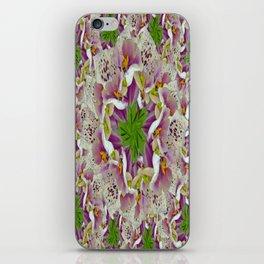 Digitalis Purpurea Flowers iPhone Skin