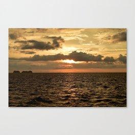 Sunset at Tamarindo Canvas Print