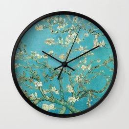 Van Gogh Almond Blossoms Painting Wall Clock