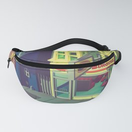 Beefiest burgers in town Fanny Pack