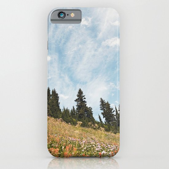 Mountain Flowers in the Sun iPhone & iPod Case