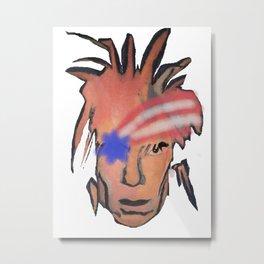 MR. Andi Warhole Metal Print