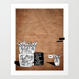 culpa Art Print