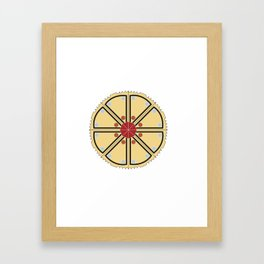 Mandala Project Seven Framed Art Print