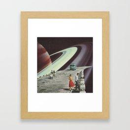 Ring Road Framed Art Print