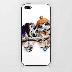 Winter Owls iPhone & iPod Skin