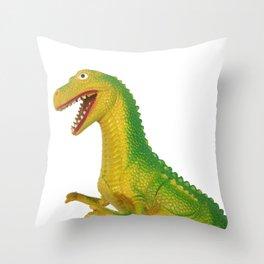 Hong Kong T-Rex Throw Pillow