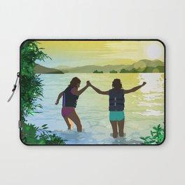 Sunset Rock Laptop Sleeve