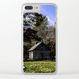 Fenced In Beauty in Virginia Clear iPhone Case