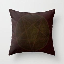 Satan Throw Pillow