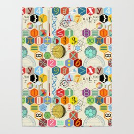 Math in color (little) Poster