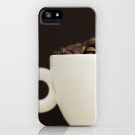Bean to Cup? iPhone Case