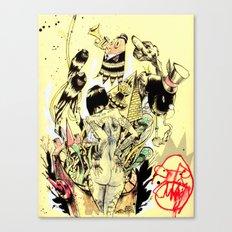 SEARCH & DESTROY. Canvas Print