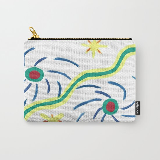 Suns and Hurricanes Carry-All Pouch
