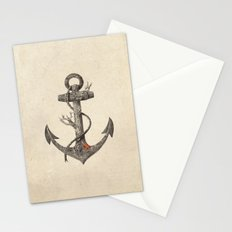Lost at Sea - mono Stationery Cards