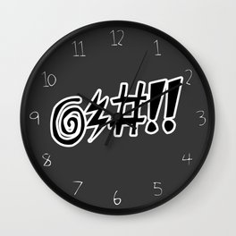 Profane Wall Clock