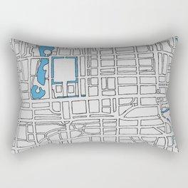Central Beijing Rectangular Pillow