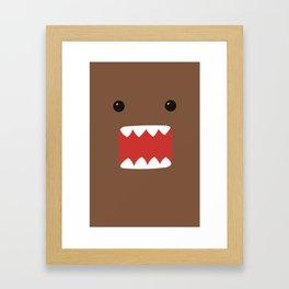 Domo-Kun - Domo-Kun Framed Art Print