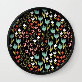 Colette - Black Wall Clock