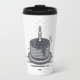Cake decorated with stars Travel Mug