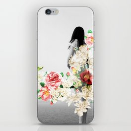 Poppy and Memory III iPhone Skin