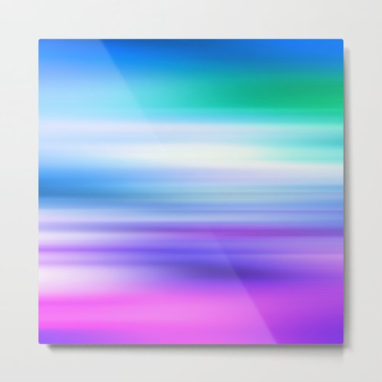 COLOUR & SHAPE  Metal Print